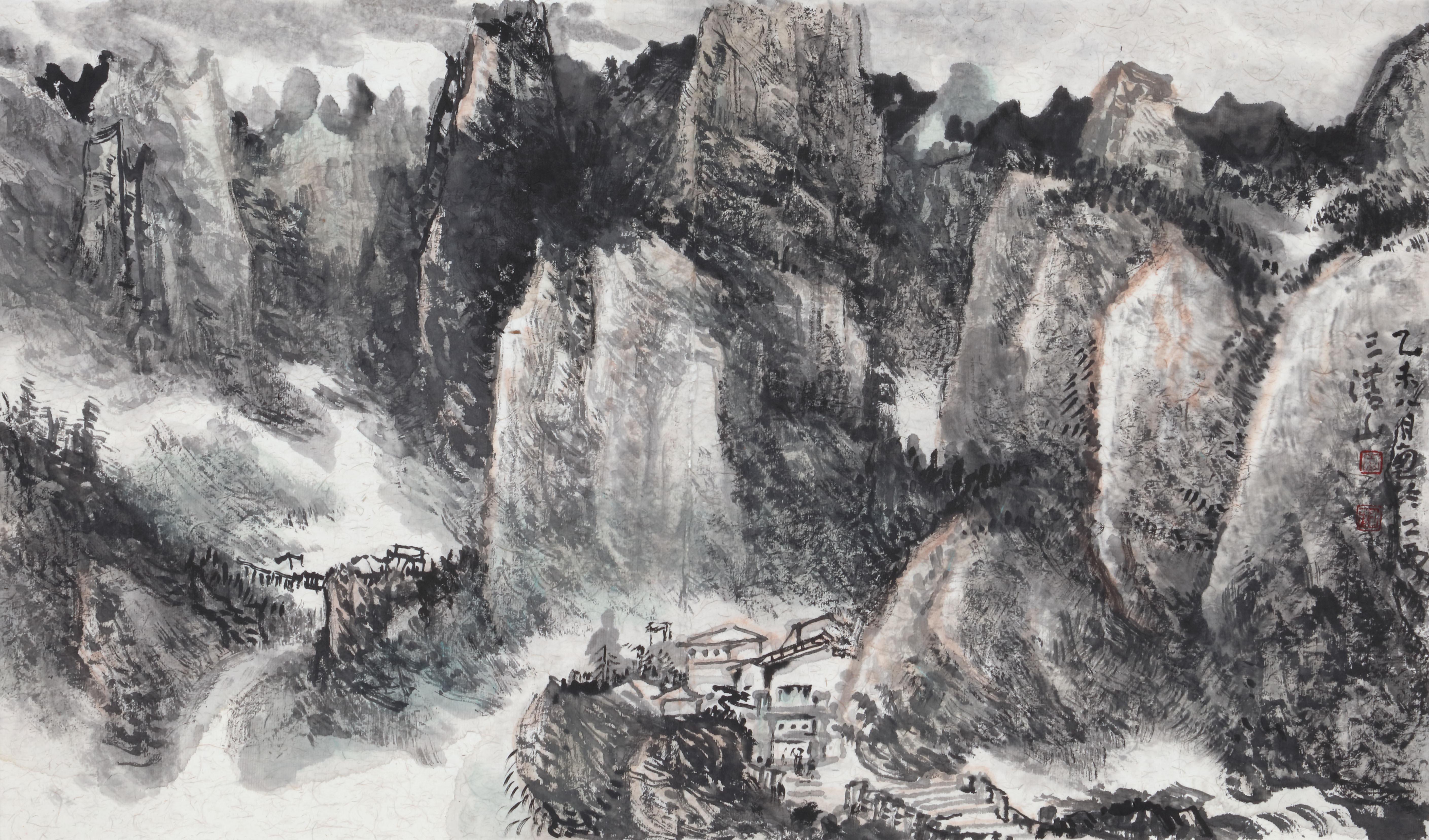 江西婺源大师写生手绘