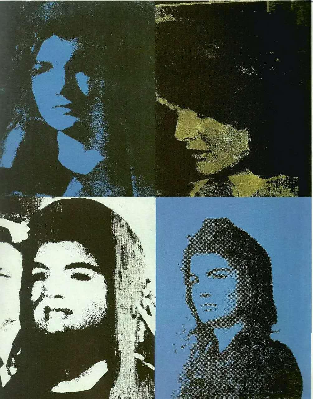 贾斯珀·约翰斯(美) 1963-1966   丝网版和石版  劳森伯格(美)